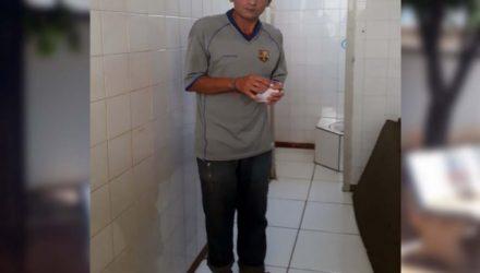 Operário do frigorífico local, Jocelino da Silva Castro, de 39 anos e morador no bairro Barbaroto, foi indiciado por latrocínio. Fotos: MANOEL MESSIAS/Agência