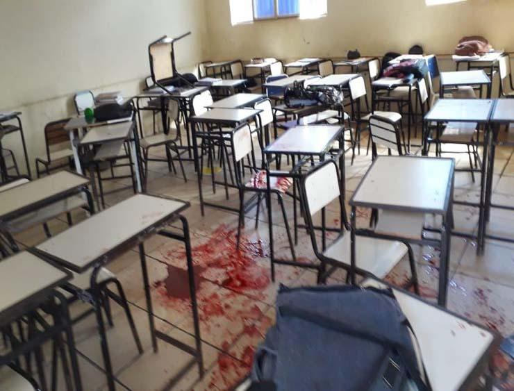 Aluno invadiu escola e atirou contra colegas na zona rural de Caraí — Foto: Polyana Mattos/Arquivo Pessoal.