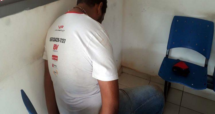 Motorista morador em Dourados/MS foi preso acusado de tráfico de entorpecentes. Foto: MANOEL MESSIAS/Agência
