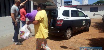 Dona de casa foi indiciada por tráfico e recolhida à penitenciária de Tupí Paulista. Ela já é reincidente no mesmo tipo de crime em estabelecimento prisional. Foto: Manoel messias/aGÊNCIA