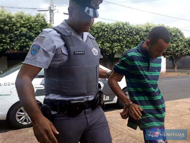 Acusado foi preso quando flagrado com entorpecentes pelo policiamento rodoviário. Foto: MANOEL MESSIAS/Agência