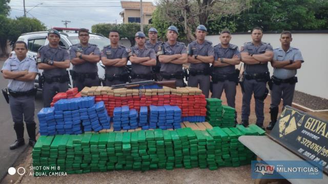 Policiais militares envolvidos na grande ocorrência de repercussão nacional. Foto: MANOEL MESSIAS/Agência