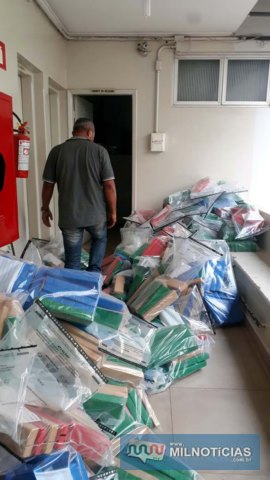 Motorista preso dirigindo o caminhão veio de São Paulo e o pegou no posto Sertanejo