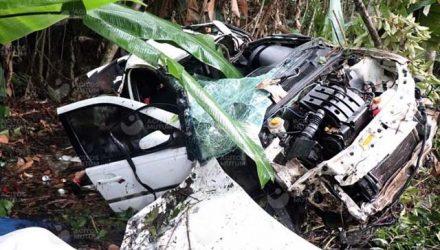 Cinco pessoas da mesma família morreram, e quatro ficaram gravemente feridas em um acidente em Nova Mutum/MT. Foto: Divulgação / Polícia Rodoviária