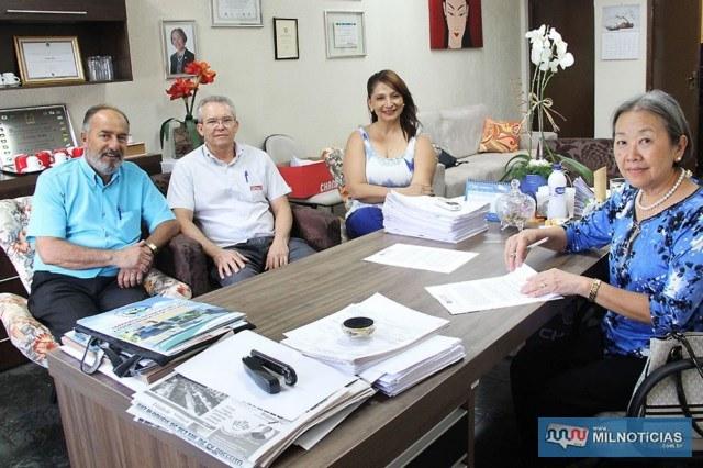 Governo de Andradina e Senai renovam convênio por mais 5 anos. Foto: Secom/Prefeitura