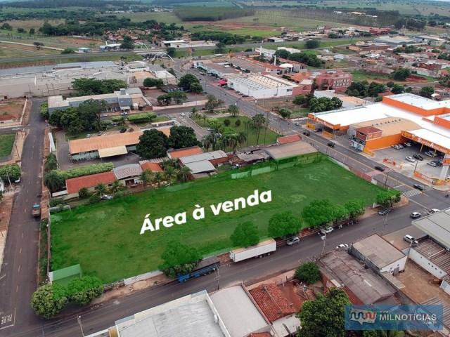 O terreno está localizado em frente à Avenida Guanabara, esquina com Aquidauana indo até a Rua Acácio e Silva. Foto: Secom/Prefeitura