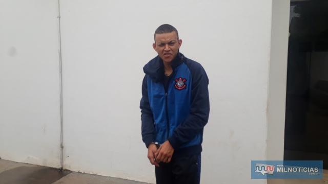 Pintor foi indiciado pelo crime de tráfico de entorpecente, permanecendo à disposição da Justiça. Foto: MANOEL MESSIAS/Agência