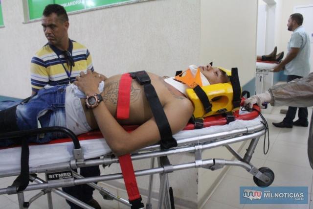 Janderson Renan Costa Rodrigues, de 23 anos, d bairro Antena. Foto: MANOEL MESSIAS/Agência