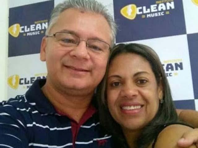 Mineia Silvania da Silva, 47, foi amarrada e assassinada. Já seu marido, Josenildo Martins de Melo, 49, foi atingido na nuca por um disparo. Foto: Reprodução