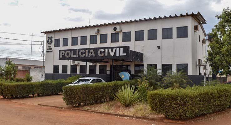 Polícia Civil de Formosa investiga morte de homem que tentou invadir casa da ex-mulher — Foto: Vitor Santana/G1.
