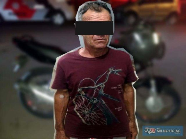 Condutor da motocicleta permaneceu a disposição da Justiça, até ser apresentado em audiência de custódia no dia seguinte. Foto: MANOEL MESSIAS/Agência