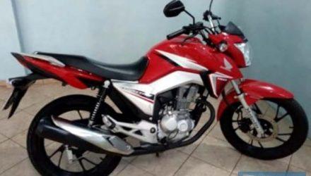 Motocicleta furtada é idêntica ao da fotografia. Foto: DIVULGAÇÃO