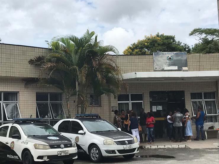 IML de Tribobó — Foto: Raísa Pires/G1 Rio.