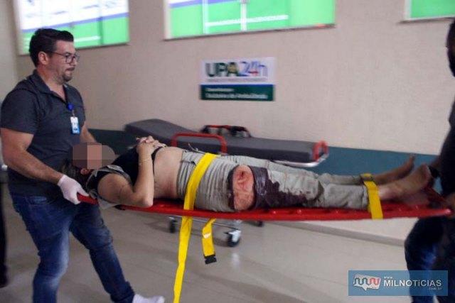 Vanessa Bizzi apresentava corte profundo na coxa direita, hematomas pelo corpo e escoriações no tornozelo direito. Foto: MANOEL MESSIAS/Mil Noticias