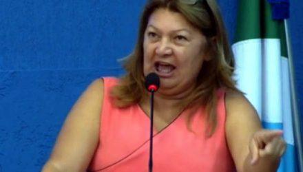 A ex- vereadora Marisa Rocha foi absolvida no processo em que o MP a denunciou pelo delito do artigo 33 (tráfico de drogas). Foto: Rádio Caçula