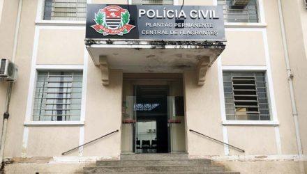 Caso foi registrado na Delegacia Participativa da Polícia Civil — Foto: Stephanie Fonseca/G1.