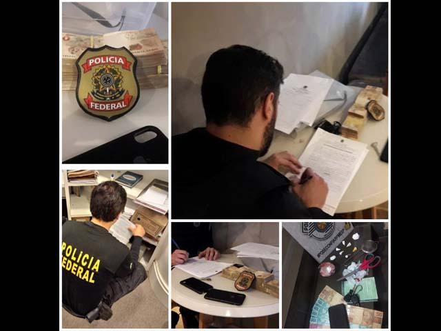 """A Polícia Federal deflagrou na manhã desta quinta-feira (13) a segunda fase da *Operação Vagatomia* denominada *""""VERITÀ PROTETTA"""". Foto: Regiaonoroeste.com"""