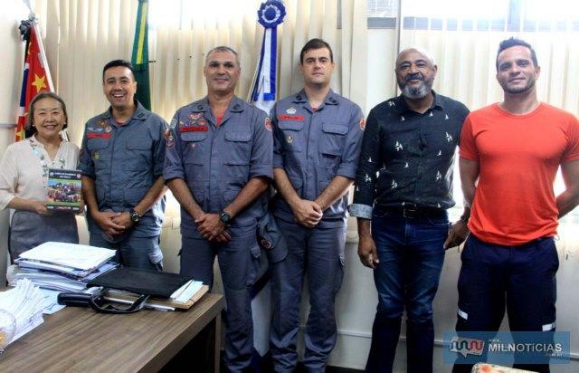 Corporação tem importantes parcerias com o Governo de Andradina. Foto: Secom/Prefeitura