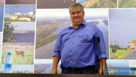 Sebastião Reis Oliveira, presidente da Câmara de Castilho. Fotos: MANOEL MESSIAS/Mil Noticias