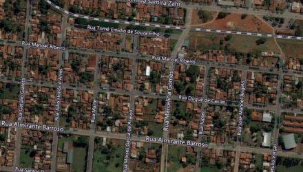 Tentativa de homicídio aconteceu no bairro Laranjeiras, em Castilho/SP. Foto: Google Street View/Reprodução