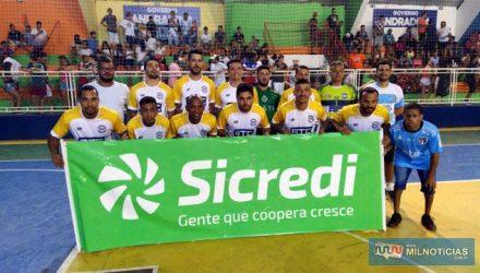 GRUB/ATC/Elzinha e o Garfo, confirmou o favoritismo co goleada. Foto: MANOEL MESSIAS/Mil Noticias