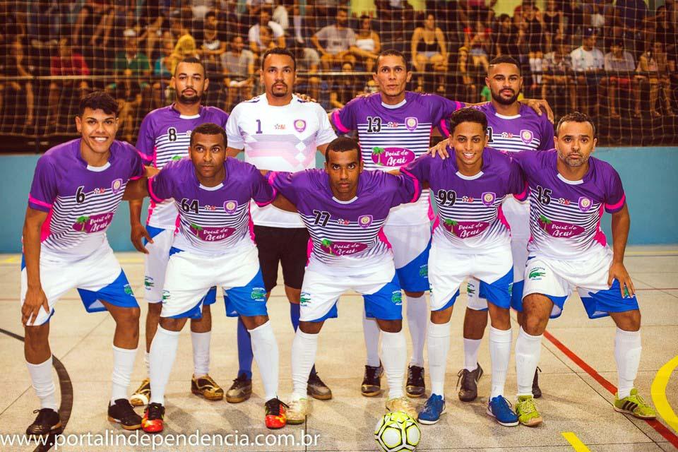 O Campeonato de Férias de Futsal de Nova Independência deu início no dia 05 de fevereiro com 9 equipes disputando o título. Foto: Assessoria de Comunicação