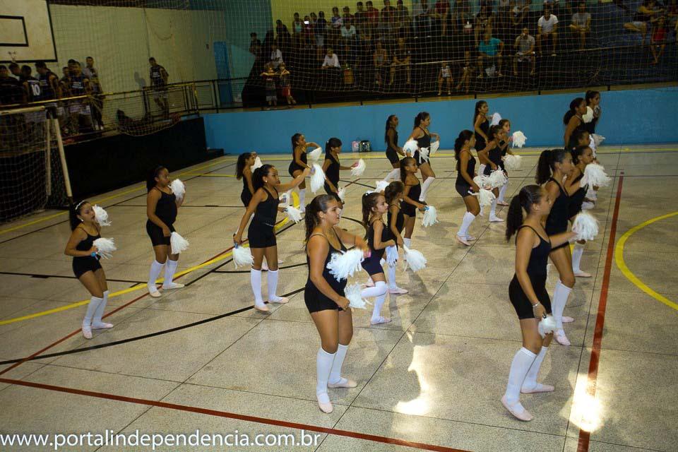 A final foi abrilhantada com apresentações de danças do Departamento de Cultura do município. Foto: Assessoria de Comunicação