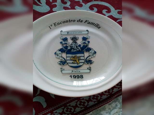 1º Encontro da Família Passarelli aconteceu no ano de 1998, Foto: DIVULGAÇÃO