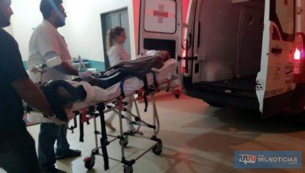 A desempregada A. C. S. P., de 28 anos, da rua Aquidauana, Vila Botega, levou 3 golpes de faca, um deles no tórax,  em tentativa de homicídio. Foto: MANOEL MESSIAS/Agência