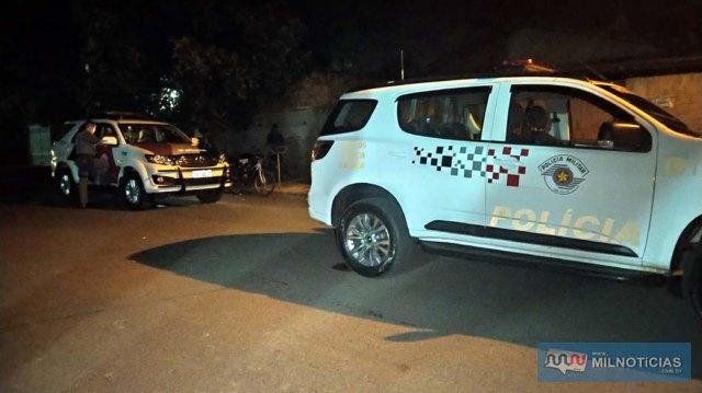 Polícia Militar preservou o local para o trabalho da perícia técnico/científico. Foto: MANOEL MESSIAS/Agência
