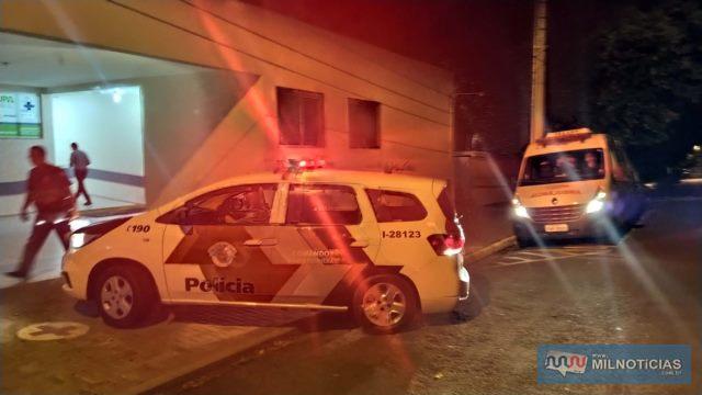 Outra equipe foi até a UPA coletar informações da vítima e da acusada. Foto: MANOEL MESSIAS/Agência