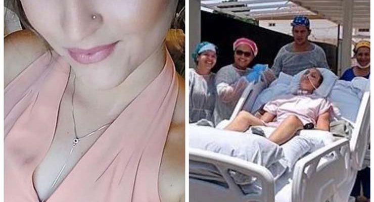 Mulher foi vítima de acidente de trânsito na MT-130, em novembro de 2019 — Foto: Arquivo pessoal.