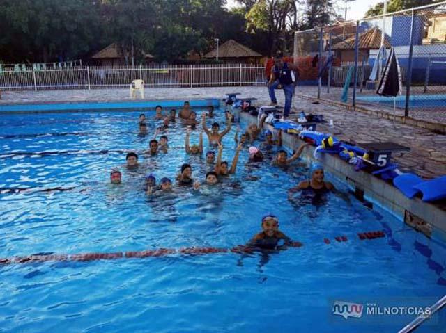 ATC promove no próximo sábado (07), Torneio Regional de Natação da Federação Aquática Paulista. Foto: DIVULGAÇÃO
