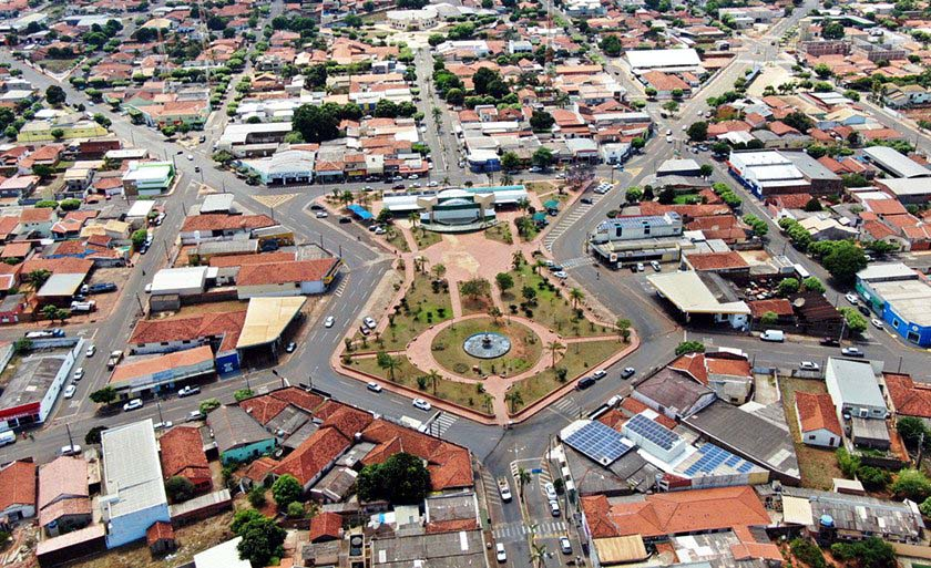 Crime bárbaro assustou a cidade de Brasilândia/MS. Foto: DIVULGAÇÃO