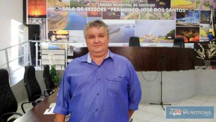 O presidente Sebastião Reis Oliveira comandou os trabalhos da Casa de Leis, colocando em apreciação os requerimentos apresentados. Foto: MANOEL MESSIAS/Agência