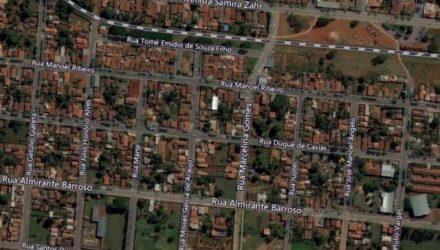 Tentativa de homicídio aconteceu no sábado, 22, em um bar no bairro Laranjeiras, em Castilho. Foto: Google Maps/Reprodução