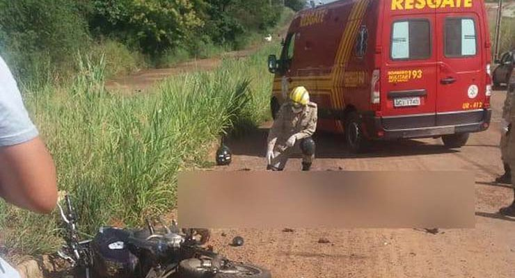 Mulher e grávida morrem atropeladas por caminhão conduzido por motorista com CNH vencida em Barra do Garças — Foto: Divulgação.