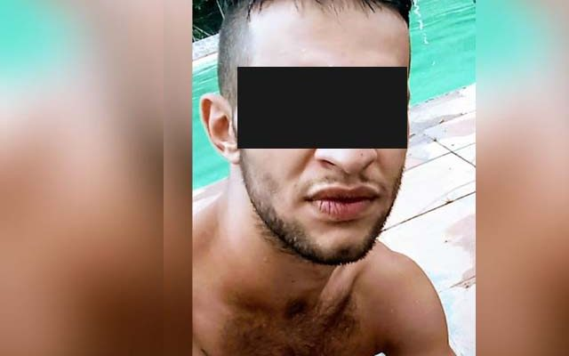 Lucas Sacco, ficou preso e encaminhado ao CDP de Independência. Foto: Facebook