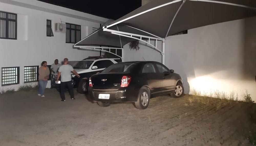 Jardineiro de 34 anos foi preso suspeito de matar uma idosa de 75 anos no Chapadão, em Campinas (SP), no dia 11 de março — Foto: Graziela Fávaro/EPTV.
