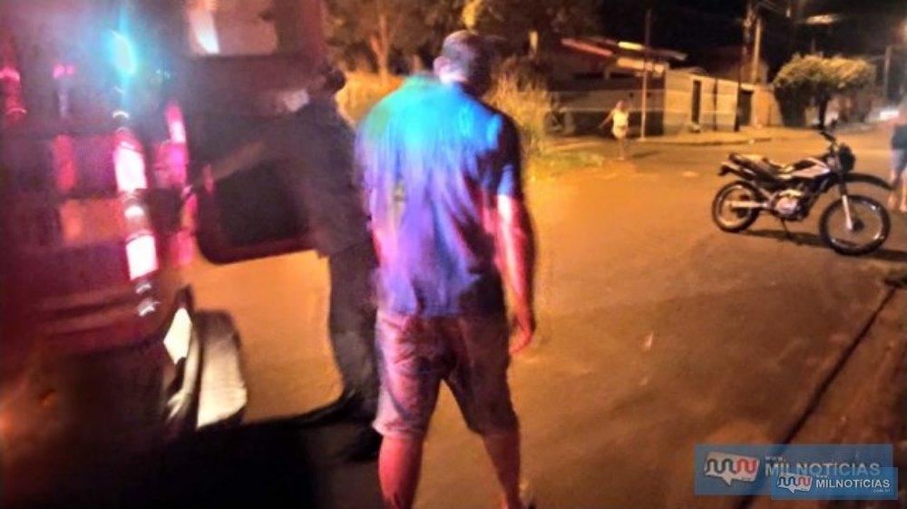 José Roberto de Souza, o Beto, ficou ferido com um tiro na panturrilha esquerda. Foto: MANOEL MESSIAS/Agencia