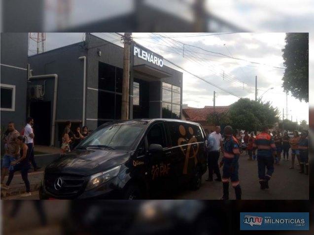 Corpo foi transportado pela funerária Unidas, do Grupo PAF. Foto: DIVULGAÇÃO