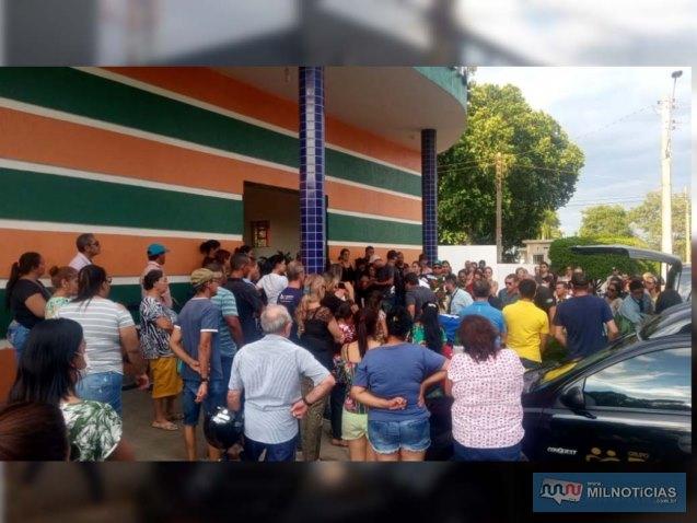 Comitê de combate a pandemia do coronavirus tentou evitar grande aglomeração. Foto: DIVULGAÇÃO