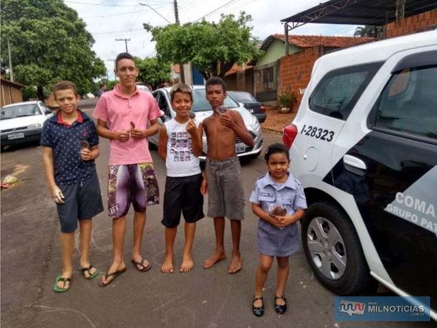 Fotos: POLÍCIA MILITAR/Divulgação