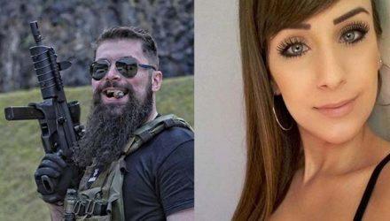 O delegado Paulo Bilynskyj, 33, e a modelo Priscila Delgado de Barros, 27 Imagem: Arquivo pessoal.