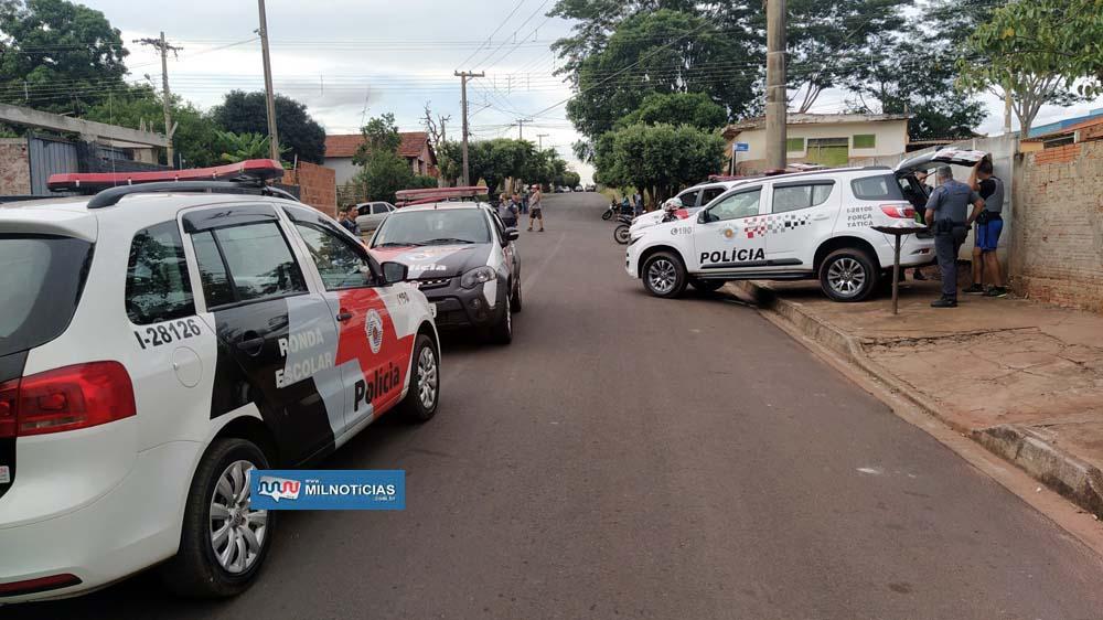 Prisão dos 5 acusados aconteceu no cruzamento das ruas Evandro B. Calvoso com Silva Jardim, no bairro Pereira Jordão. Foto: MANOEL MESSIAS/Agência
