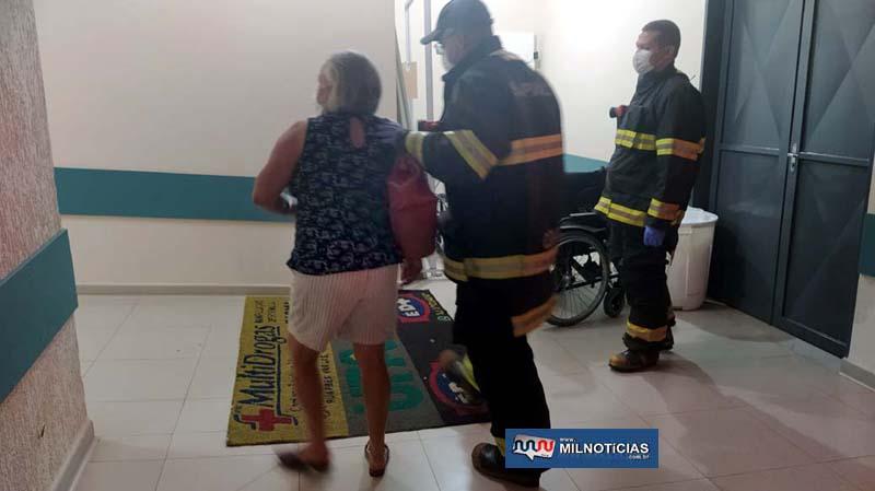 Comerciária foi encaminhada até a UPA de Andradina para melhor ser avaliada e liberada posteriormente. Foto: MANOEL MESSIAS/Agência