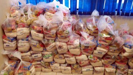 A entrega dos kits aconteceu em cada uma das unidades escolares nos dias 09 e 10 deste mês. Foto: Assessoria de Comunicação