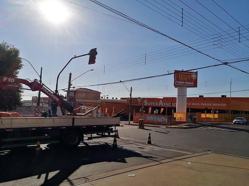 Cruzamento com rua Aquidauana é próximo a um superatacado. Foto: SEcom/Prefeitura