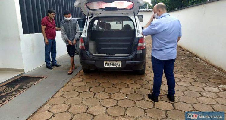 Acusado foi encaminhado para a cadeia de Pereira Barreto, permanecendo à disposição da Justiça. Foto: MANOEL MESSIAS/Agência