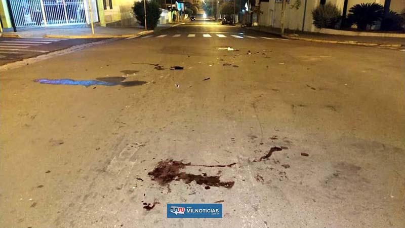 O acidente aconteceu no cruzamento das ruas Paes Leme com São Paulo, onde existe um semáforo. Foto: MANOEL MESSIAS/Agência
